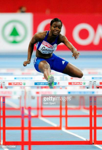 Sandra GOMIS 60m Haies Championnats d'Europe en salle BercyParis