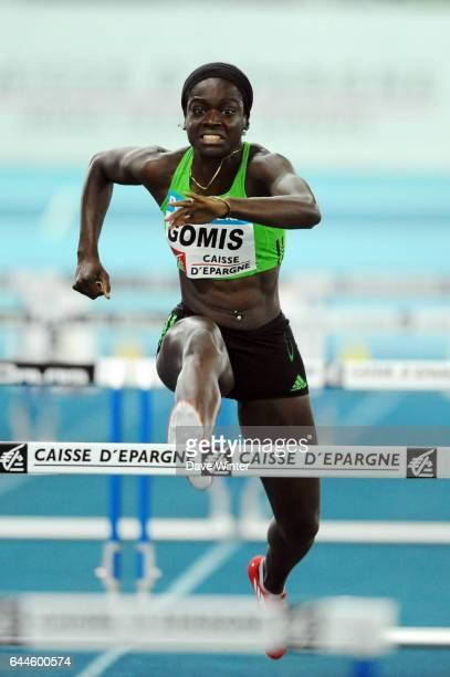 Sandra GOMIS 60m haies Meeting Pas de Calais Trophee Caisse d'Epargne 2012 Stade Regional Couvert Lievin Photo Dave Winter / Icon Sport