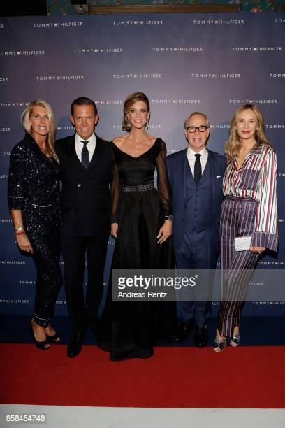 Sandra Grieder CEO Tommy Hilfiger and PVH Europe Daniel Grieder Zurich Film Festival director Nadja Schildknecht Tommy Hilfiger and his wife Dee...