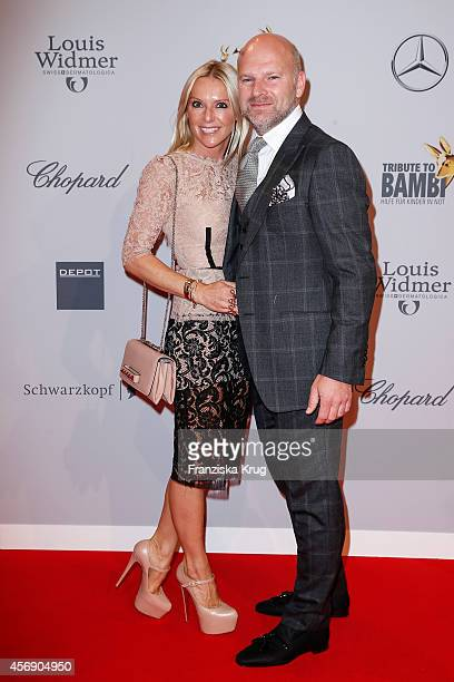 Sandra Gries and Christian Gries attend the Tribute To Bambi 2014 on September 25 2014 in Berlin Germany