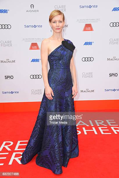 Sandra Hueller attends the German Film Ball 2017 at Hotel Bayerischer Hof on January 21 2017 in Munich Germany