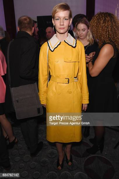 Sandra Hueller attends the Medienboard BerlinBrandenburg Reception during the 67th Berlinale International Film Festival Berlin at on February 11...