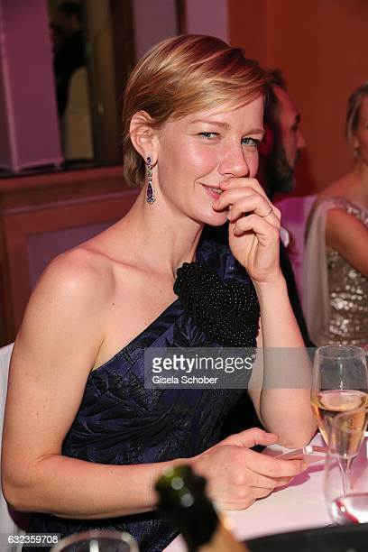 Sandra Hueller during the 44th German Film Ball 2017 party at Hotel Bayerischer Hof on January 21 2017 in Munich Germany