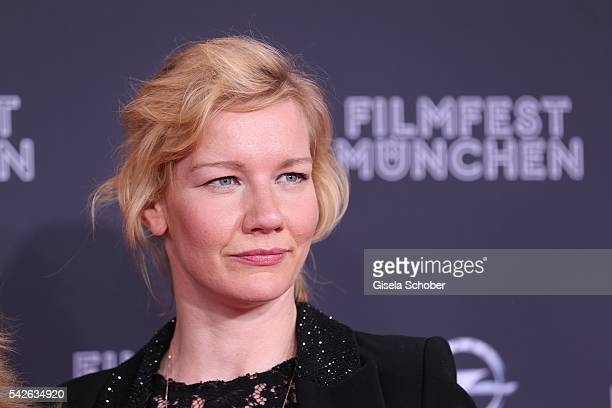 Sandra Hueller during the opening night of the Munich Film Festival 2016 at Mathaeser Filmpalast on June 23 2016 in Munich Germany