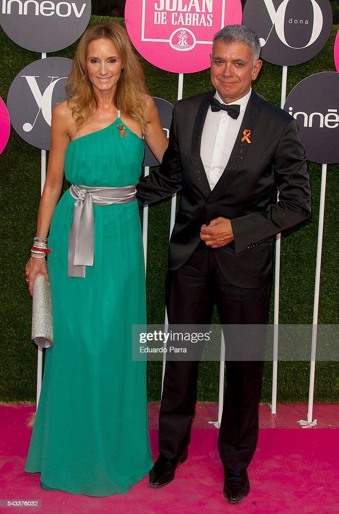 Sandra Ibarra and Juan Ramon Lucas attend the 'Yo Dona' international awards at La Quinta de la Munoza on June 27, 2016 in Madrid, Spain.