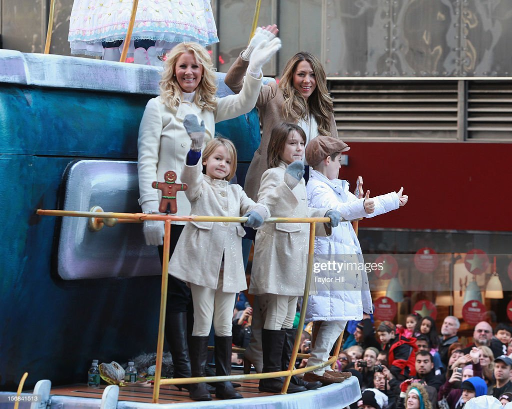 Sandra Lee and Colbie Caillat attend the 86th Annual Macy's Thanksgiving Day Parade on November 22, 2012 in New York City.