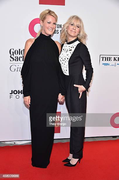 Sandra Lee and Judith Light attend the Elton John AIDS Foundation's 13th Annual An Enduring Vision Benefit at Cipriani Wall Street powered by CIROC...