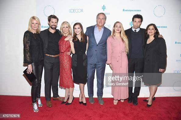 Sandra Lee Andrew Rannells Judith Light Allison Williams cochair host James Huniford Jemima Kirke Alex Karpovsky and producer for HBO's 'Girls' Ilene...