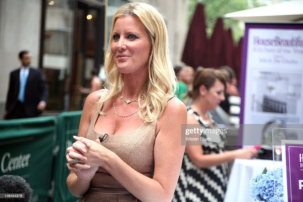 Sandra Lee Attends House Beautiful Magazine S Kitchen Of The Year Launch Party At Rockefeller