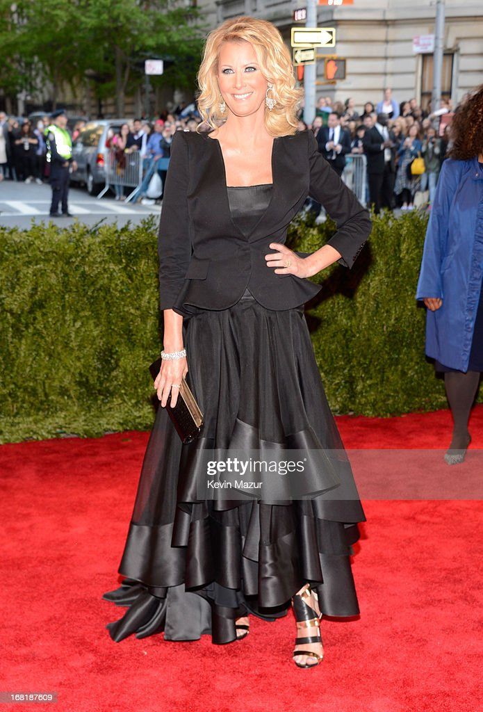 Sandra Lee attends the Costume Institute Gala for the 'PUNK: Chaos to Couture' exhibition at the Metropolitan Museum of Art on May 6, 2013 in New York City.