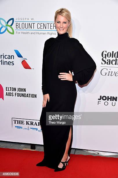 Sandra Lee attends the Elton John AIDS Foundation's 13th Annual An Enduring Vision Benefit at Cipriani Wall Street on October 28 2014 in New York City
