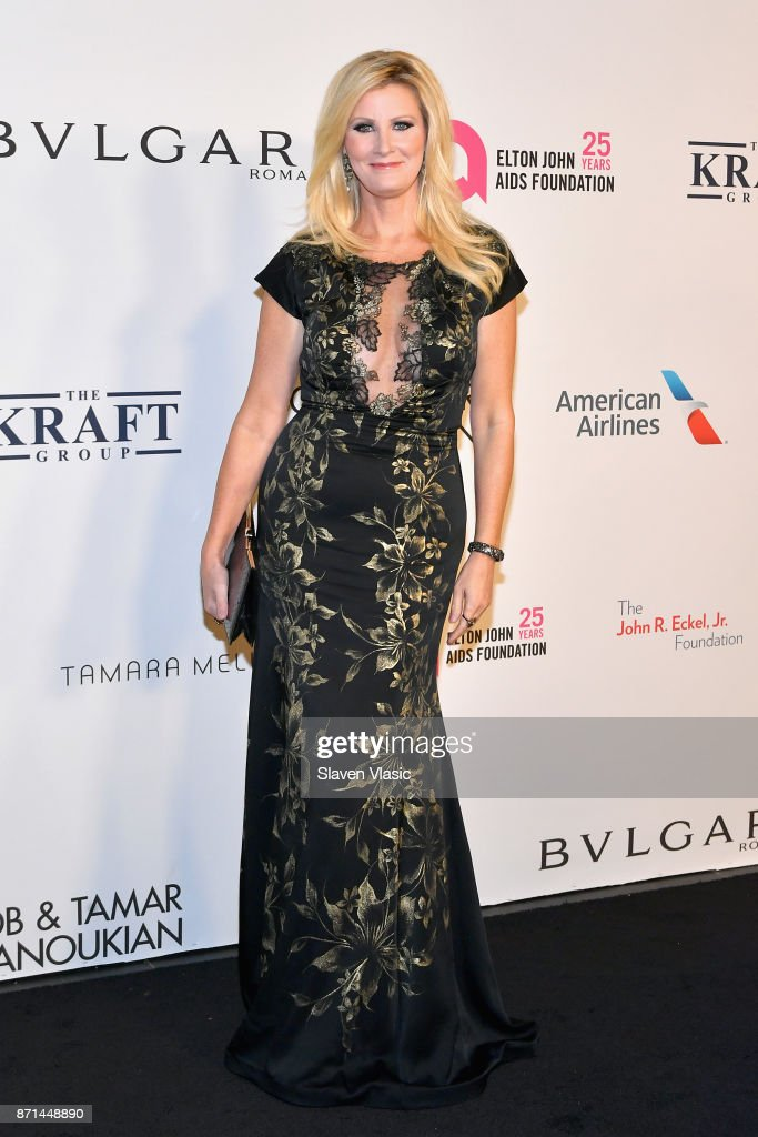 Sandra Lee attends the Elton John AIDS Foundation's Annual Fall Gala with Cocktails By Clase Azul Tequila at Cathedral of St. John the Divine on November 7, 2017 in New York City.
