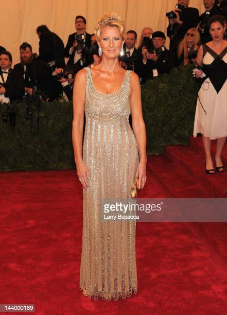 Sandra Lee attends the 'Schiaparelli And Prada Impossible Conversations' Costume Institute Gala at the Metropolitan Museum of Art on May 7 2012 in...