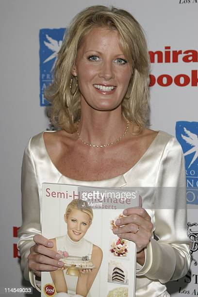 Sandra Lee during Benefit Book Launch For Sandra Lee's 'SemiHomemade Dessert's' at The St Regis Hotel in Los Angeles California United States
