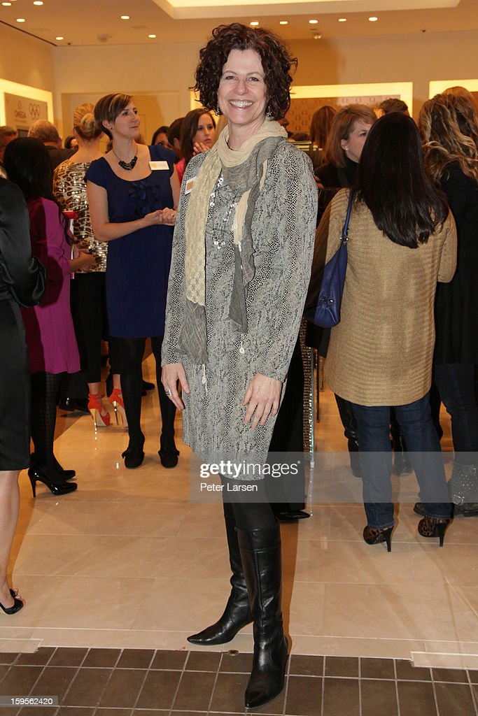 Sandra Lewis attends the Grand Opening of the Omega Boutique at NorthPark on January 15, 2013 in Dallas, Texas.