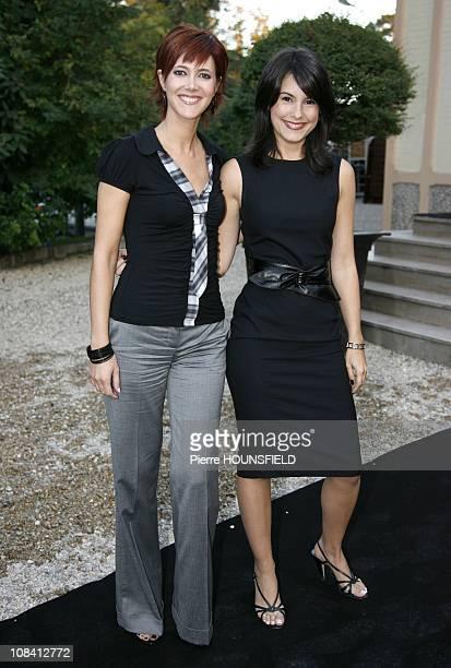 Sandra Lou Marion Jolles in Paris France on September 13 2007
