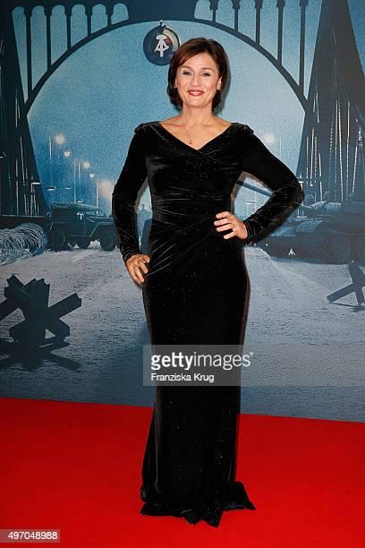 Sandra Maischberger attends the 'Bridge of Spies Der Unterhaendler' World Premiere on November 13 2015 in Berlin Germany