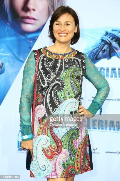 Sandra Maischberger attends the German premiere of the 'Valerian Die Stadt der Tausend Planeten' at CineStar on July 19 2017 in Berlin Germany