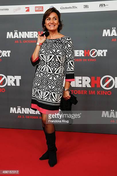 Sandra Maischberger attends the 'Maennerhort' Berlin Premiere on September 2 2014 in Berlin Germany