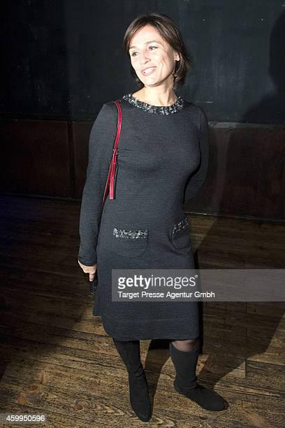 Sandra Maischberger attends the Medienboard PreChristmas Party 2014 at Kraftwerk on December 4 2014 in Berlin Germany