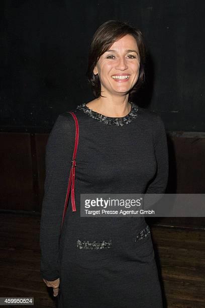Sandra Maischberger attends the MedienboardPreChristmas Party 2014 at Kraftwerk on December 4 2014 in Berlin Germany