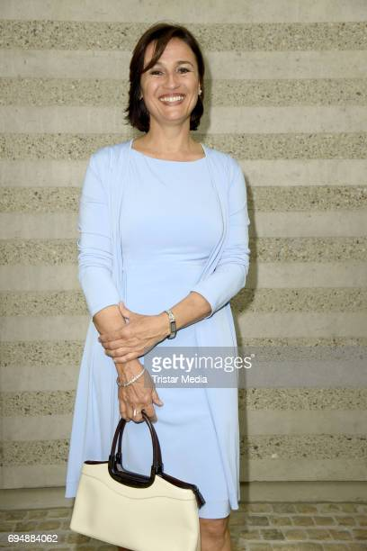 Sandra Maischberger attends the Photocall to the Premiere of 'Mata Hari Tanz mit dem Tod' on June 11 2017 in Berlin Germany