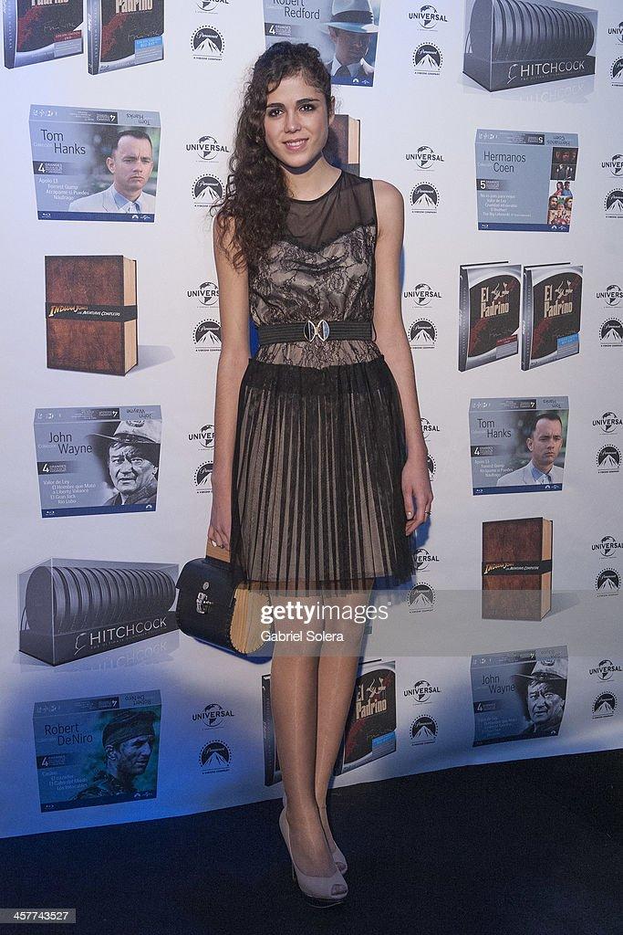 Sandra Martin attends Paramount Cinema Party at Tiffany's on December 18, 2013 in Madrid, Spain.