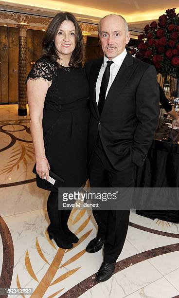 Sandra McGuigan and Barry McGuigan attend the Cartier Racing Awards 2012 at The Dorchester on November 13 2012 in London England