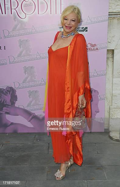 Sandra Milo attends the 'Premio Afrodite 2013' at MoMo on June 25 2013 in Rome Italy