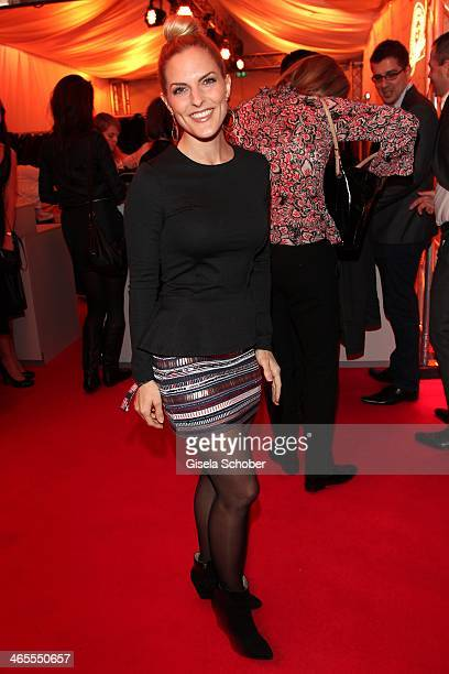 Sandra Moelling attends the Lambertz Monday Night at Alter Wartesaal on January 27 2014 in Cologne Germany