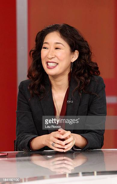 AMERICA Sandra Oh of ABC's 'Grey's Anatomy' is a guest on 'Good Morning America' 10/10/13 airing on the ABC Television Network SANDRA OH