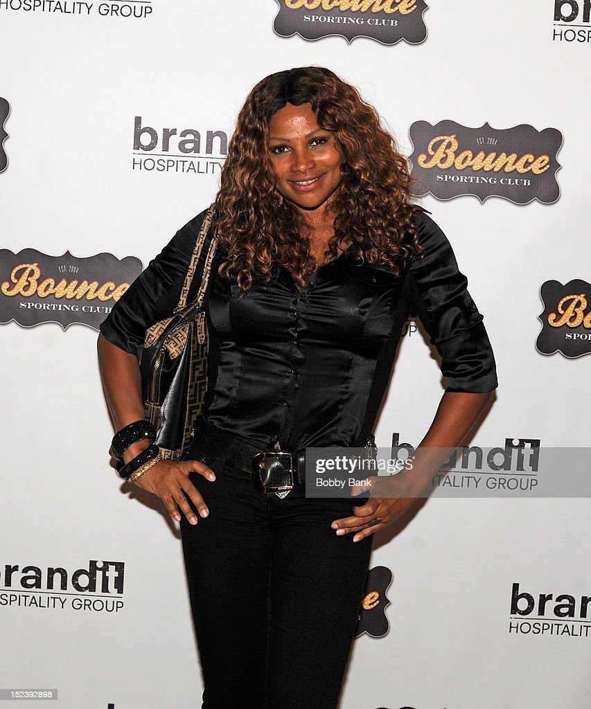 Sandra 'Pepa' Denton attends the 1 year anniversary party at Bounce Sporting Club on September 19, 2012 in New York City.