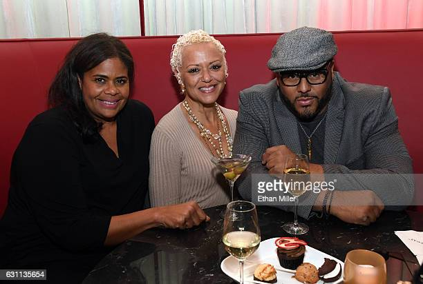 Sandra Rice Charli B and recording artist and record producer Al B Sure attend the after party of the kickoff of Dana Carvey and Jon Lovitz's 20show...