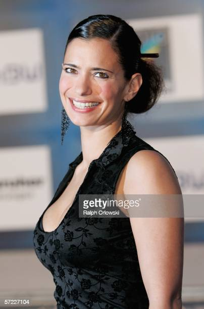 Sandra Speichert arrives at the 9th Radio Regenbogen Award in the Schwarzwaldhalle on March 31 2006 in Karlsruhe Germany