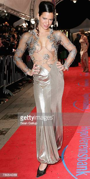 Sandra Speichert attends the 34th annual German Film Ball at the Bayerischer Hof Hotel January 20 2007 in Munich Germany