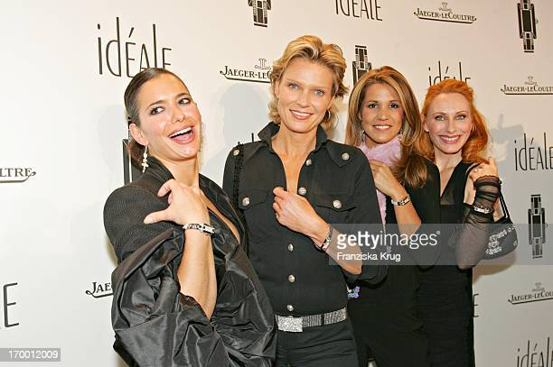 Sandra Speichhert Gräfin Stephanie Von Pfuel Karen Webb and Andrea Sawatzki at The German Launch Of watch 'Ideals' from Jaeger Lecoultre at Opera...