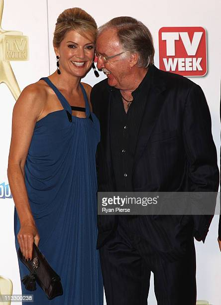 Sandra Sully and George Negus arrive on the red carpet ahead of the 2011 Logie Awards at Crown Palladium on May 1 2011 in Melbourne Australia