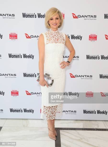 Sandra Sully arrives ahead of the annual Women of the Future awards on October 4 2017 in Sydney Australia