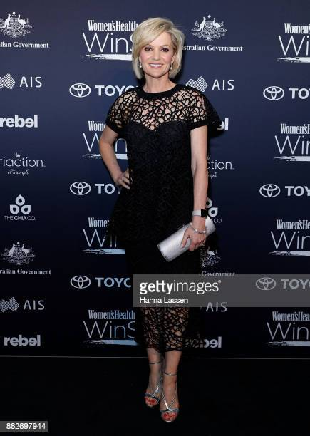 Sandra Sully arrives ahead of Women's Health Women In Sport Awards on October 18 2017 in Sydney Australia