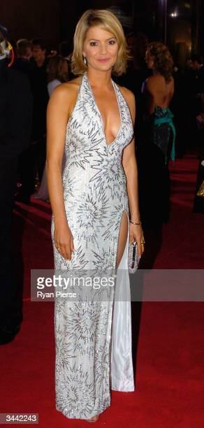 Sandra Sully attends the 46th Annual TV Week Logie Awards at the Crown Entertainment Complex April 18 2004 in Melbourne Australia