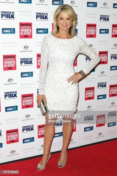 Sandra Sully attends the 'I Support Women In Sport' Awards at Paddington Town Hall on December 4 2012 in Sydney Australia