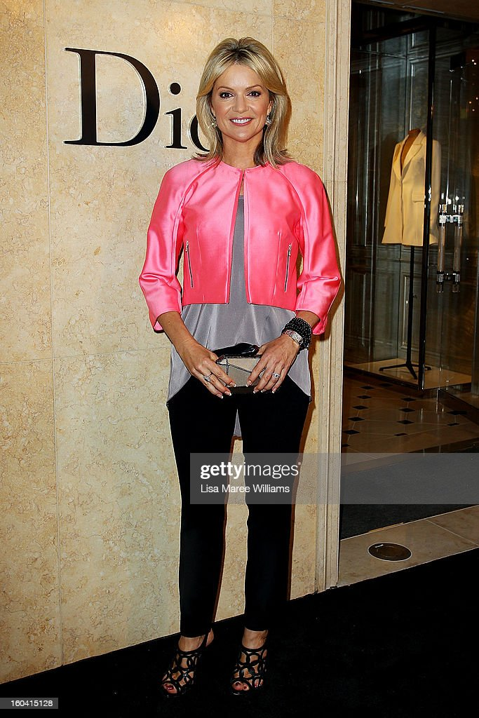 Sandra Sully attends the opening of the Christan Dior Sydney store on January 31, 2013 in Sydney, Australia.
