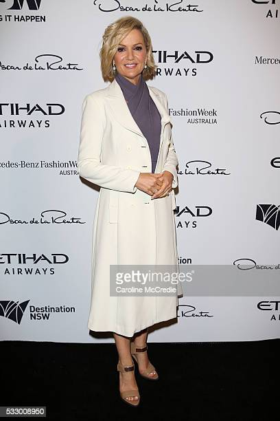 Sandra Sully attends the Oscar de la Renta show presented by Etihad Airways at MercedesBenz Fashion Week Resort 17 Collections at Carriageworks on...