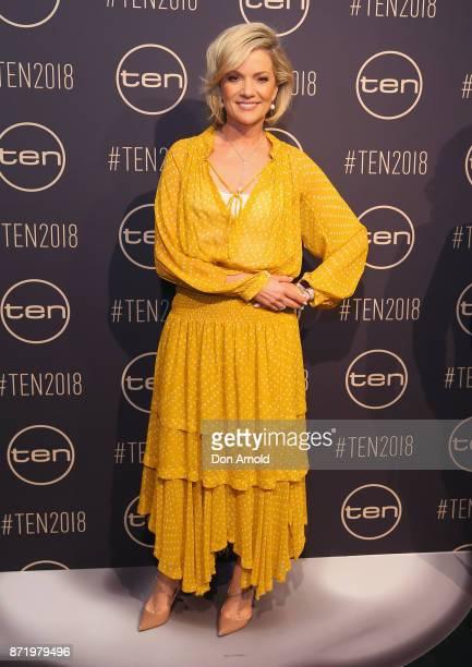Sandra Sully poses during the Network Ten 2018 Upfronts on November 9 2017 in Sydney Australia