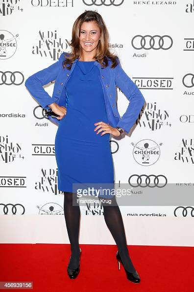 Sandra Thier attends the Audi Fashion Award 2014 on October 09 2014 in Hamburg Germany