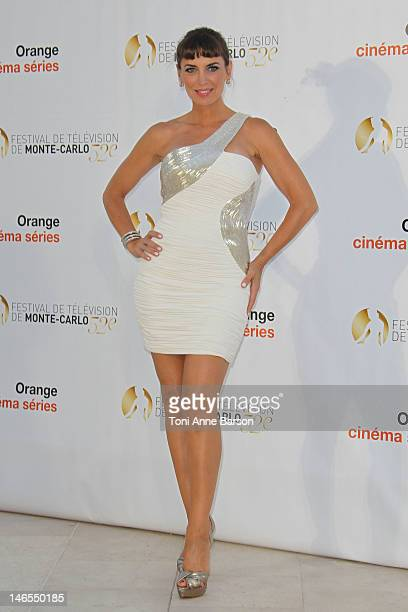 Sandra Vidal attends 'Orange Cinema Serie Party' at the MonteCarlo Bay Hotel Resort during the 52nd Monte Carlo TV Festival on June 13 2012 in...