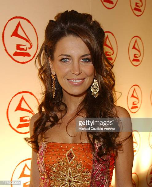 Sandra Vidal during 2005 Latin Recording Academy Person of the Year Red Carpet at Regent Beverly Wilshire in Beverly Hills California United States