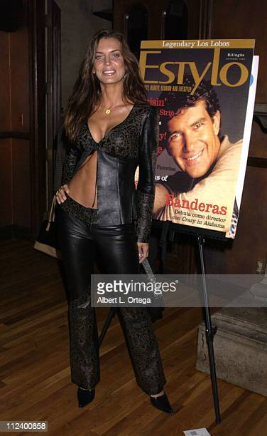 Sandra Vidal during 5th Anniversary of Estylo Magazine Party at The Gate in West Hollywood California United States