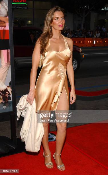 Sandra Vidal during 'The Whole Ten Yards' World Premiere Arrivals at Chinese Theatre in Hollywood California United States