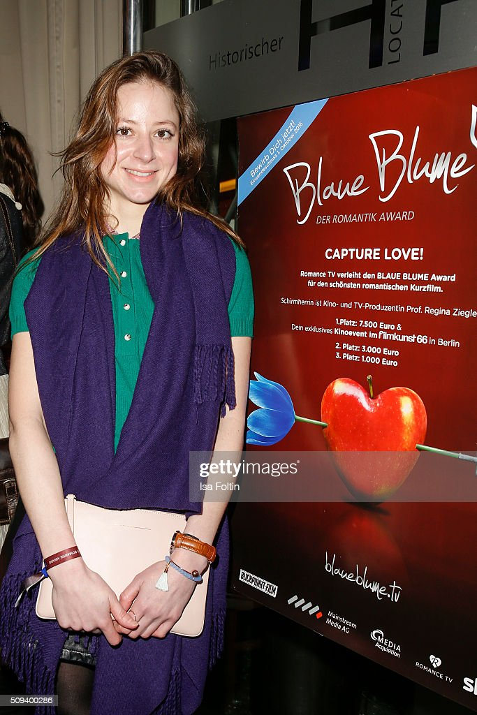 Sandra von Ruffin attends the Blaue Blume Awards 2016 on February 10, 2016 in Berlin, Germany.